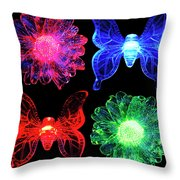 Seventies Flash Back Throw Pillow