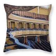 Severance Balcony And Main Floor Throw Pillow