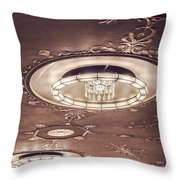 Severance Hall Ceiling Detail   Throw Pillow