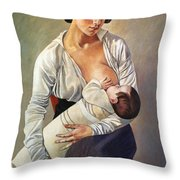 Severini: Maternity, 1916 Throw Pillow