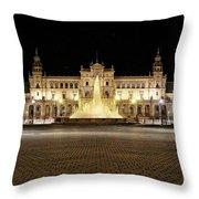Sevilla Seville Andalucia Spain Throw Pillow