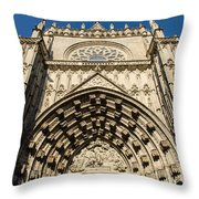 Seville - The Cathedral Throw Pillow