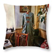Sewing Room 1 Throw Pillow