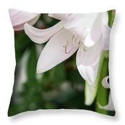 Sexual Flower Throw Pillow