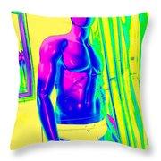 Sexy Sammy Throw Pillow