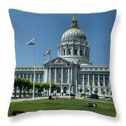 Sf City Hall 2 Throw Pillow