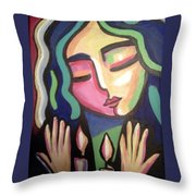Shabas Throw Pillow