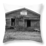 Shack Barn Throw Pillow