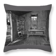 Shack House Throw Pillow