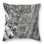 Shackled Not Chained Throw Pillow