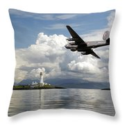 Shackleton Heading Out On Patrol Throw Pillow