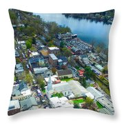 Shad Fest 15' Throw Pillow