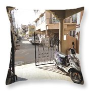 Shade And Shadows Throw Pillow