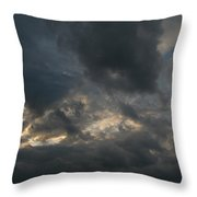 Shades And Colours Throw Pillow