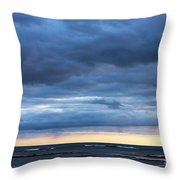 Shades Of Blue.. Throw Pillow
