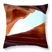 Shades Of Sandstone Throw Pillow