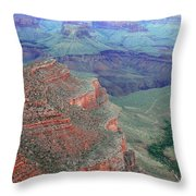 Shades Of The Canyon Throw Pillow