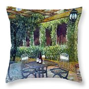 Shades Of Van Gogh Throw Pillow