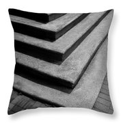 Shadow And Steps Throw Pillow