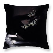 Shadow Art Throw Pillow