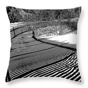 Shadow Beauty Throw Pillow