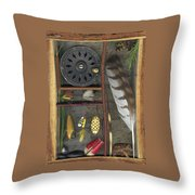 Shadow Box A Throw Pillow