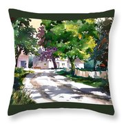 Shadow Colors Throw Pillow