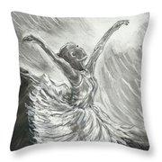 Shadow Dancer Throw Pillow
