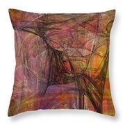 Shadow Dragon Throw Pillow by John Robert Beck