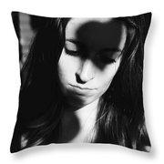 Shadow Heart Throw Pillow