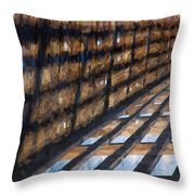 Shadow In Paint Throw Pillow