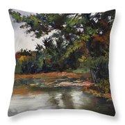 Shadow Lake Plein Air #3 Throw Pillow