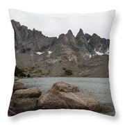 Shadow Lake Throw Pillow