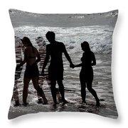 Shadow Love Throw Pillow