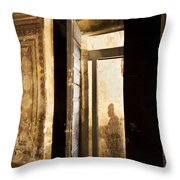 Shadow Of A Ghost Throw Pillow