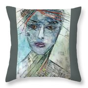 Shadow Of The Soul Throw Pillow