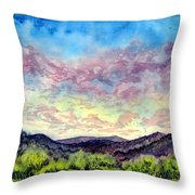 Shadow Of The Valley Throw Pillow
