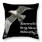 Shadow Of Thy Wings Throw Pillow