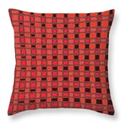 Shadow On The Path Abstract #3 Throw Pillow
