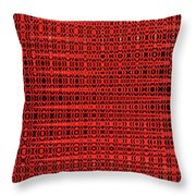 Shadow On The Path Abstract Throw Pillow