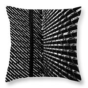 Shadow Pattern No. 208 Throw Pillow