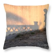 Shadow Play  Throw Pillow