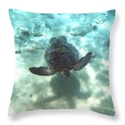 Shadow Race Throw Pillow