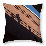 Shadow Skate Throw Pillow
