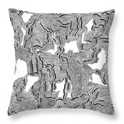 Shadow Vision 2 Throw Pillow
