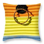 Shadow Waves Throw Pillow