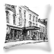 Shadowland Theater Throw Pillow
