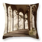 Shadows And Curves Throw Pillow