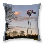 Shadows Fall  Throw Pillow