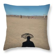 Shadows Throw Pillow